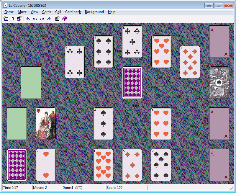 Screenshot of XM Solitaire